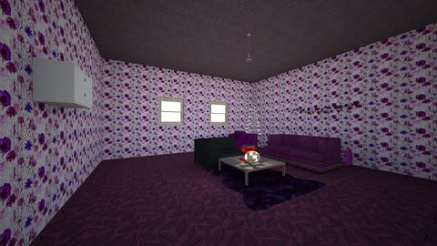 plum living room - Living room - by noadesign