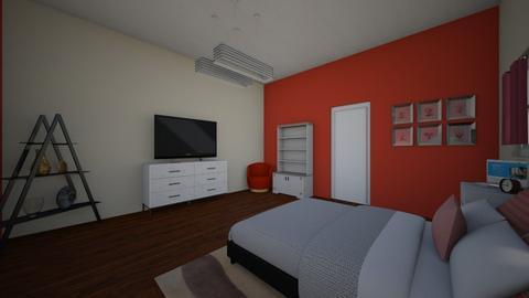 room practice  - Bedroom  - by Beiseha