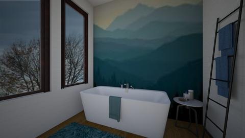 mountain view - Bathroom - by dena15