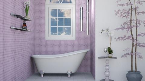 Lavendar Bathroom - Bathroom  - by lotsofglory