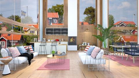 big windows - Living room  - by rasty