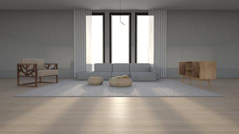 scandi - Minimal - Living room  - by Hoyte