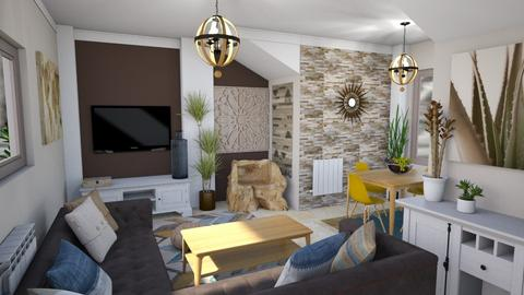 For Dhul AB2 - Living room  - by AlocinB