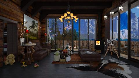 Canyon in the Alps  - Eclectic - Living room  - by Ida Dzanovic