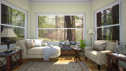 Lazy Morning - Classic - Living room  - by Bibiche