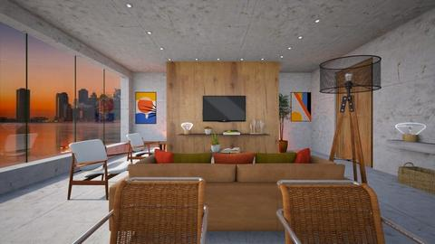 Panorama View - Living room  - by diegobbf