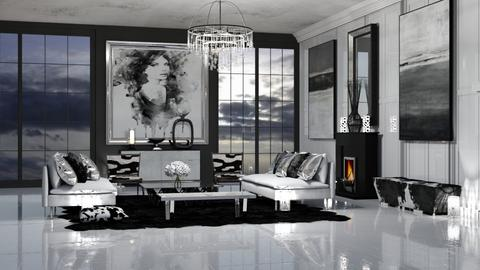 Modern Meets Traditional - Eclectic - Living room  - by RS Designs