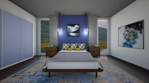 Sleepy Rainy Days - Bedroom  - by Nikki Lipstick