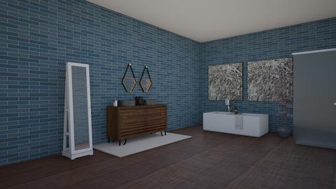design 2  - Bathroom - by avaflutie