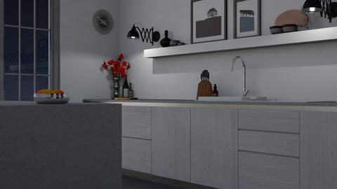 Minimal Kitchen - Minimal - Kitchen  - by HenkRetro1960