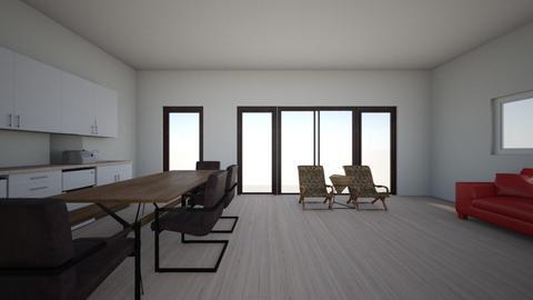 Full room 2 - Living room  - by gleidy