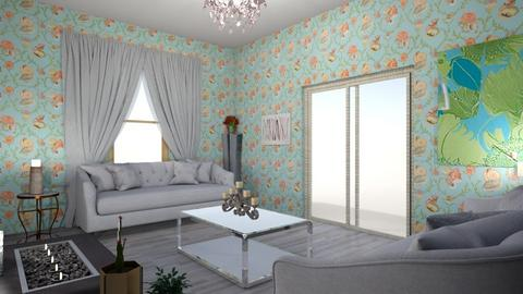 Set Design - Living room  - by samanthak216