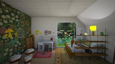 my ua dorm  - Bedroom  - by polyphemus_curtains