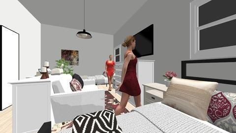 Dorm Room - by DianaPalichuk