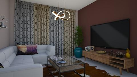 2 - Modern - Living room - by yosef