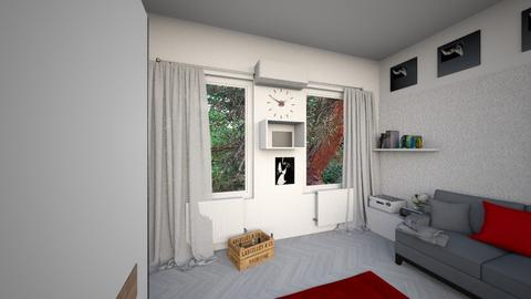 nappali_terv_grey - Minimal - Living room  - by hzs6