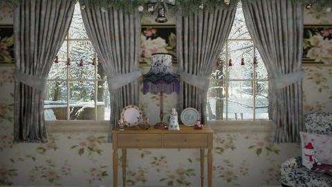 noel corner - Classic - Living room  - by donella