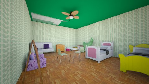 Kids Room - Eclectic - Kids room  - by orangeblood03