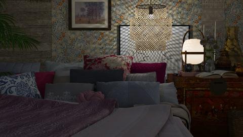 Cozy bedroom - Eclectic - Bedroom  - by HenkRetro1960