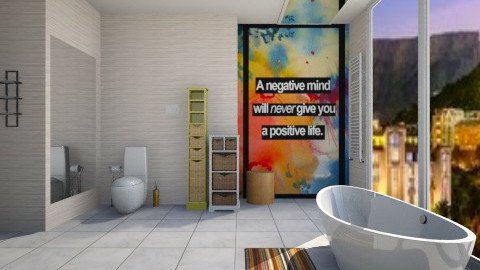 positive neuclean - Modern - Bathroom  - by Nhezi