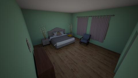 E - Bedroom  - by el_joy