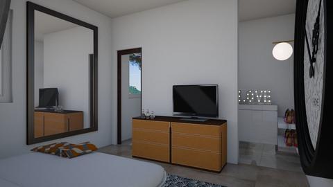 CAPITOLO 7 ESERCIZIO 1 a - Bedroom - by EveDesign