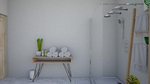 Calm Studio Bath View5 - Modern - Bathroom - by musicdesign22