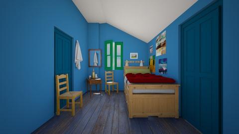 Bedroom In Arles - Bedroom  - by SammyJPili