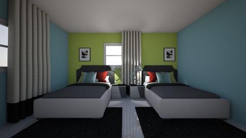 chika boys room 1 - Bedroom - by jfx