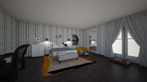 MY ROOM - Bedroom  - by mairste