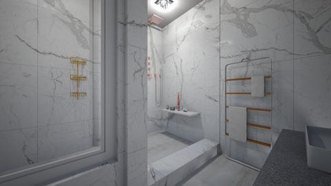 bathroom ilumination - Modern - Bathroom  - by vallequeen