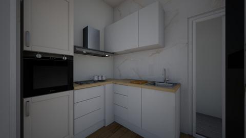 Denah SA - Kitchen  - by andrawan