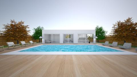 Modern hacienda_view  - by saratevdoska