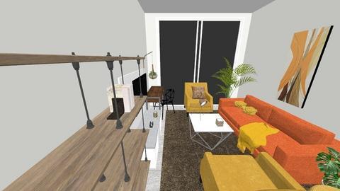 Taller 2020 - Modern - Living room  - by Luciano Fierro Valdez