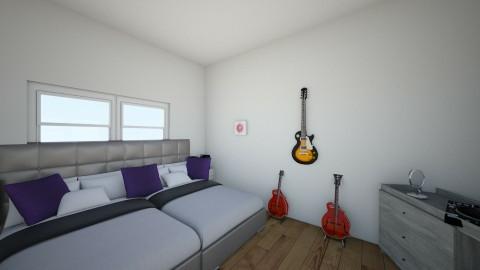 tv room - Retro - Bedroom  - by hiker437