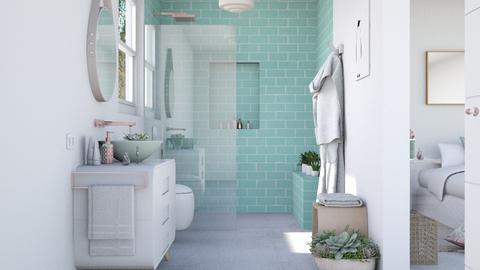 Noa bathroom - Bathroom  - by Charipis home