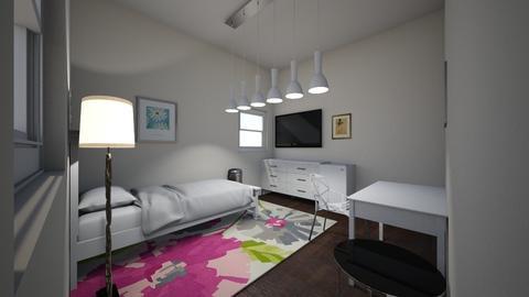 My bedroom - Modern - Bedroom  - by Carleybee
