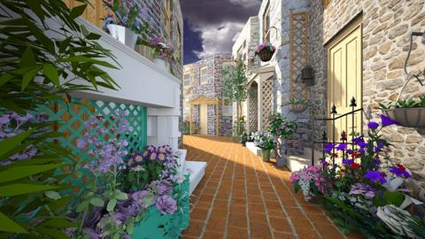 Petite Rue de Provence - Rustic - Garden  - by Bibiche
