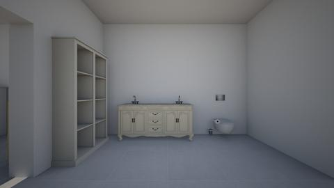Hello - Bathroom  - by NicoleDewar