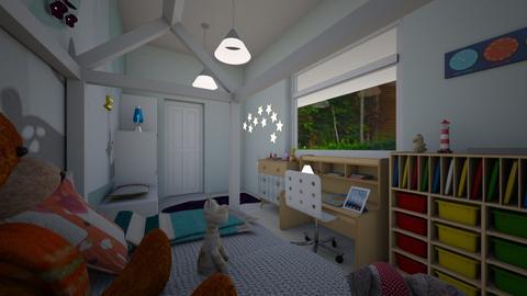 workshop bedroom  - Modern - Bedroom - by TusaTimea