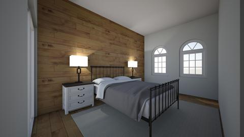 Condo Bedroom - Rustic - Bedroom  - by RTakacs7
