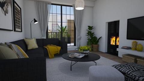 Fireplace - Living room  - by Tuija