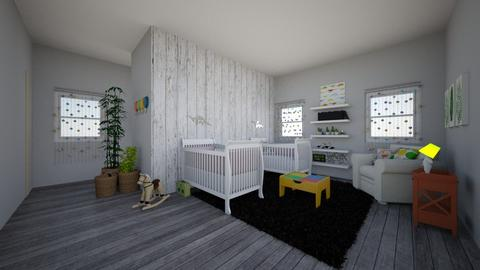 baby  - Kids room  - by alomireles