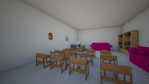 Theatre Room - Office  - by almen18