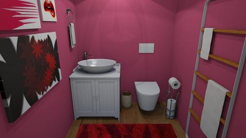 Anger Bathroom - Rustic - Bathroom  - by 29catsRcool