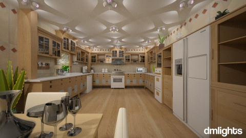 blonde - Classic - Kitchen  - by DMLights-user-981898