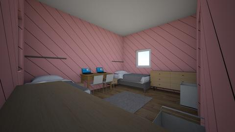 Twin Girl Bed Room - Bedroom  - by Kaylee4321