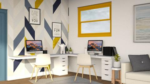 Workspace  - Classic - Office  - by Ninora