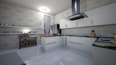 lkm - Kitchen - by miyase