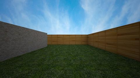Yard - Garden - by chrometoaster